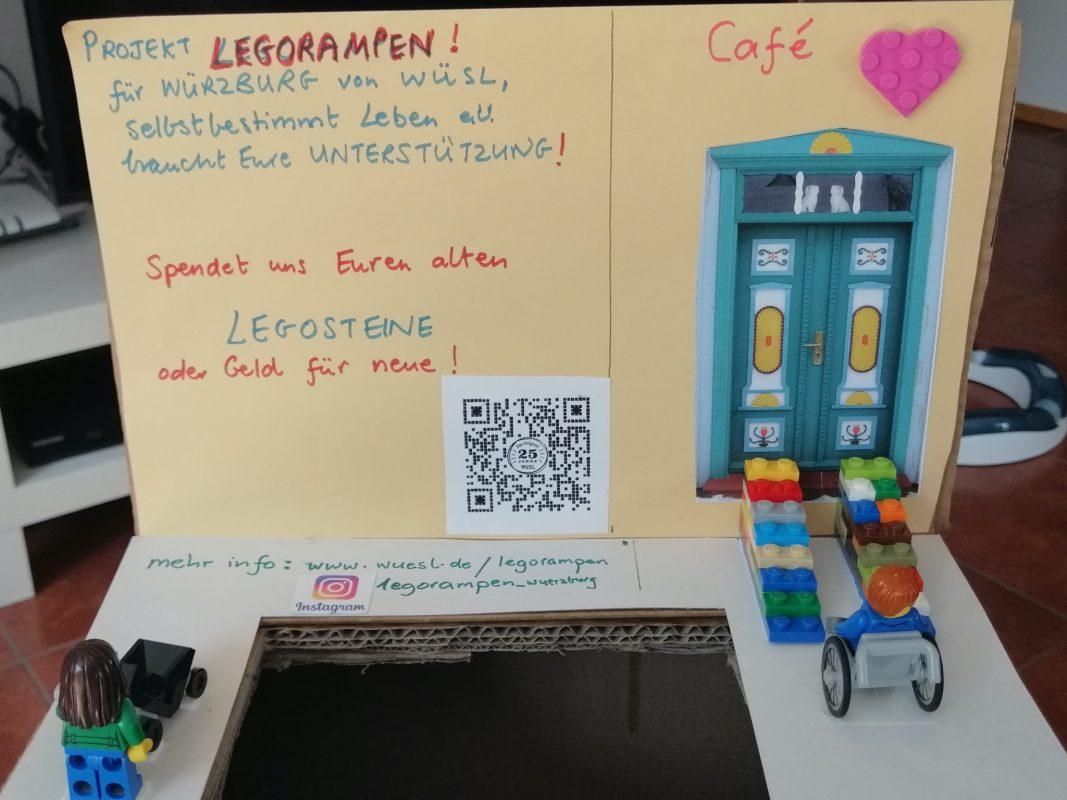 Im Viertelcafé gibt es eine Sammelstelle für Legosteine zur Aktion. Foto: Frederik Suter