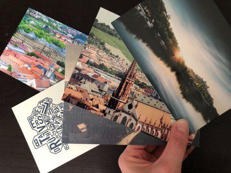 Würzburg-Postkarten. Symbolfoto: Katharina Kraus