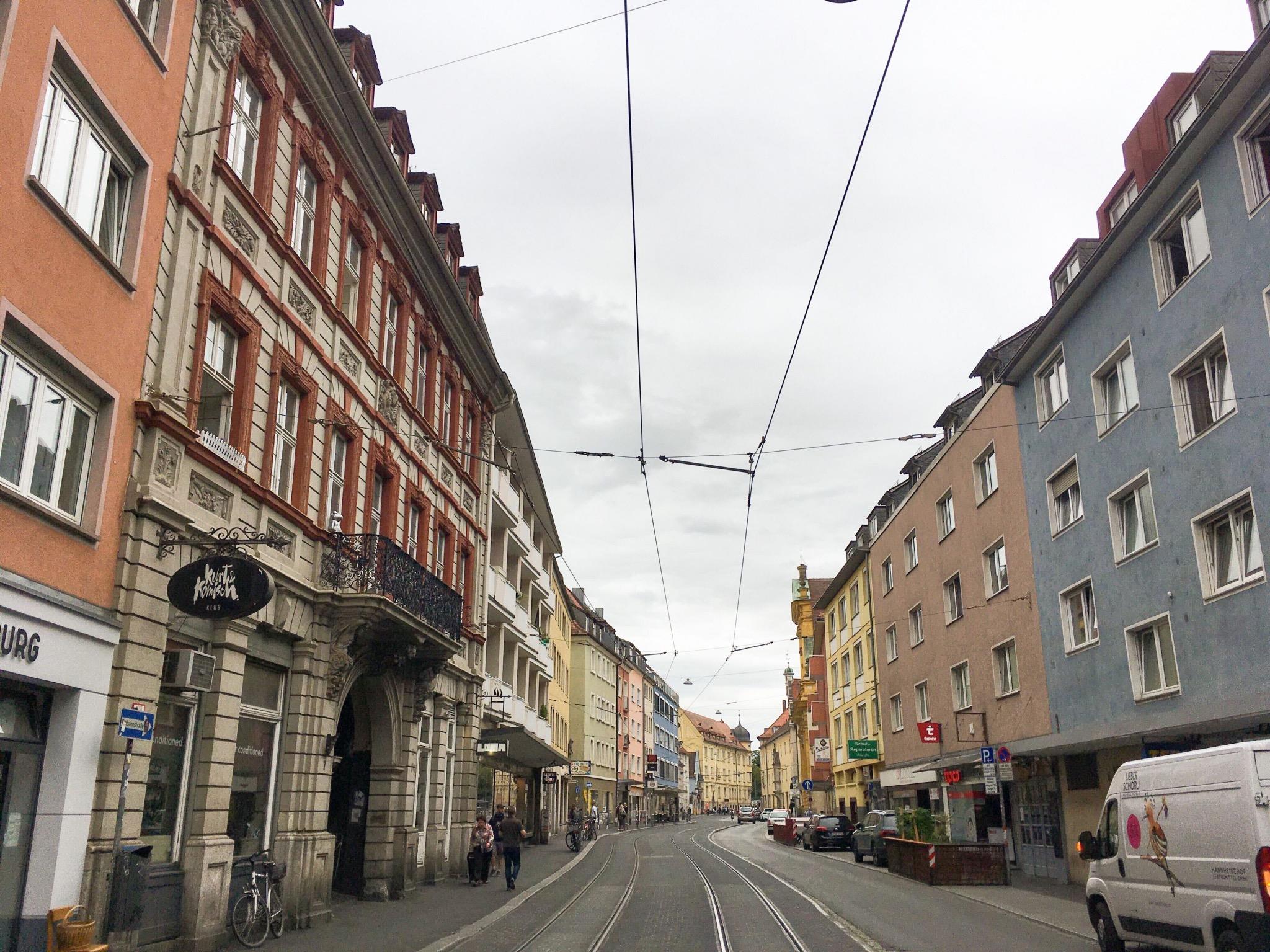 Blick in Sanderstraße, Symbolbild. Foto: Jacob Grimm