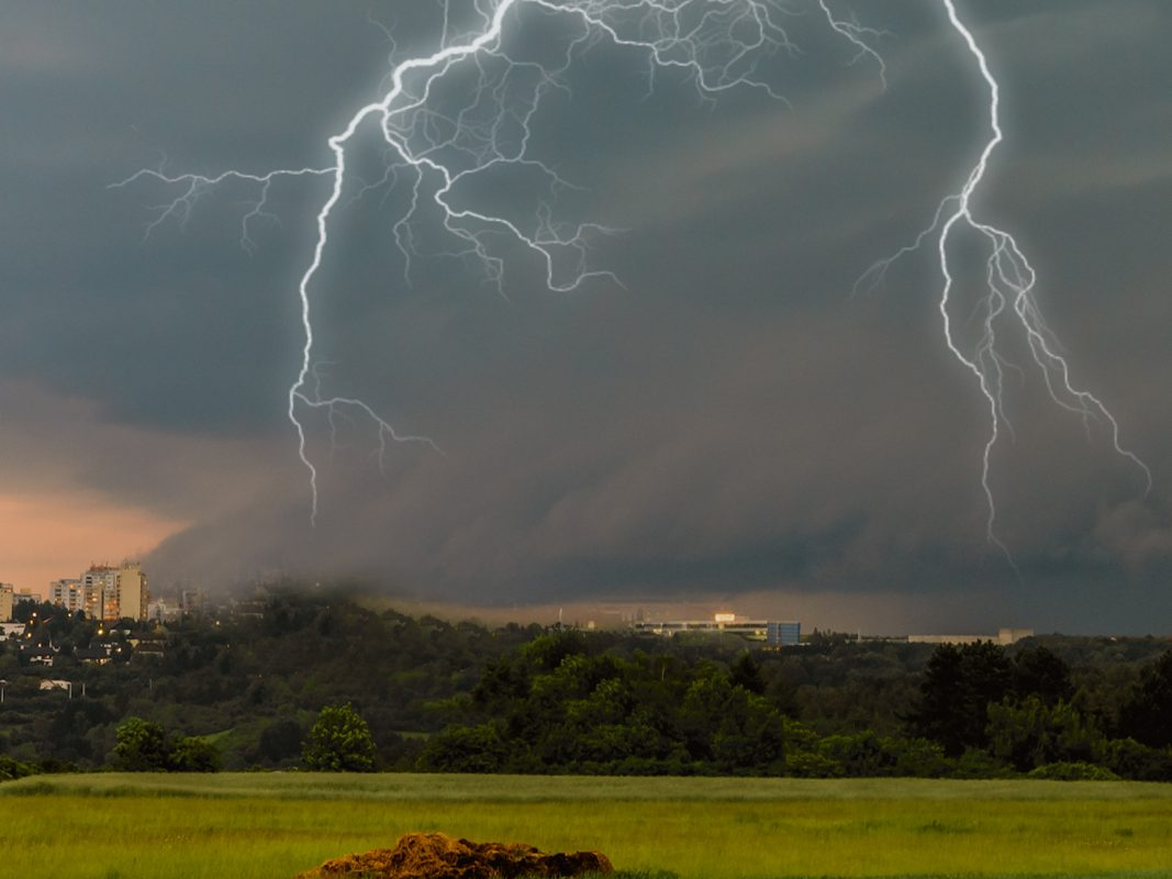 Gewitter. Symbolfoto: Pascal Höfig