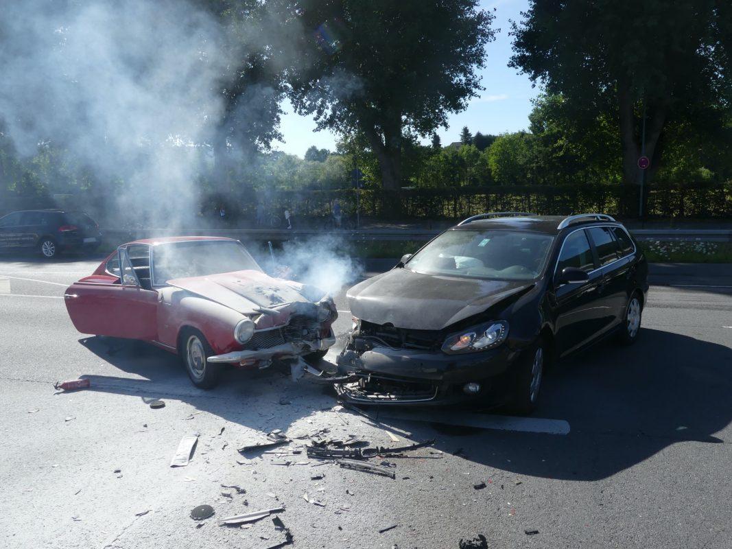 Am Mittwochenachmittag ereignete sich ein Unfall mit einem Oldtimer. Foto: Polizei