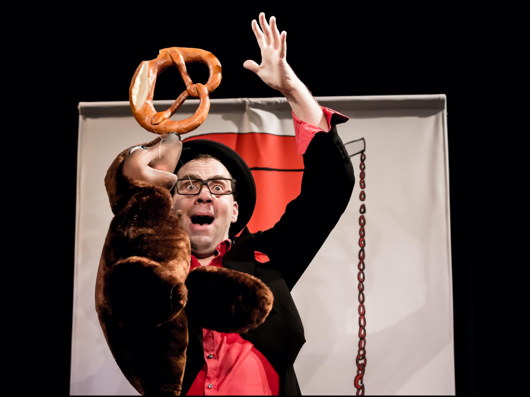 Das Zappalott Theater bietet ein Programm für Klein und Groß. Foto: Vollmond Konzertfotografie