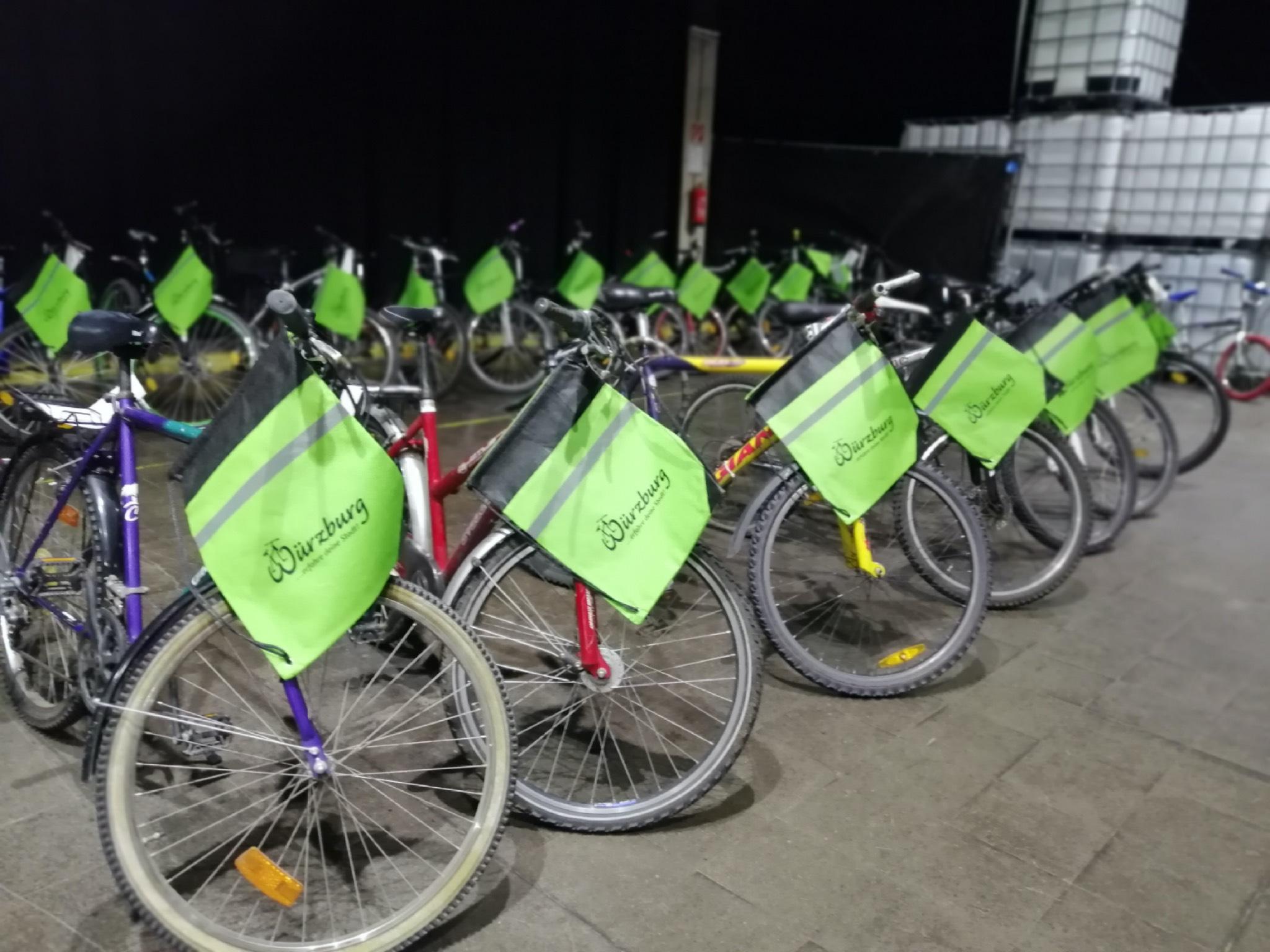 Auf der 3. Radbörse am 5. September in der Posthalle findet man passende Fahrräder für jeden Geschmack. Foto: VCD / Stadt Würzburg