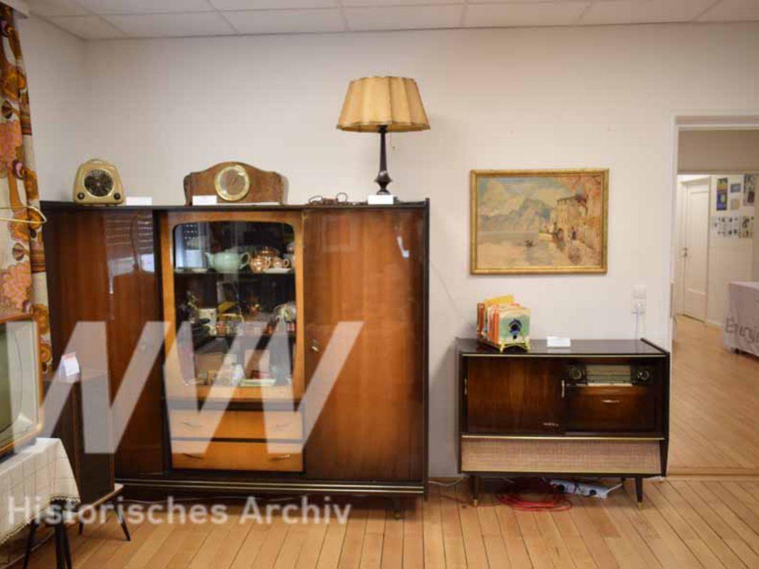 Das WVV Betriebsmuseum. Archiv: Historisches Archiv der WVV.
