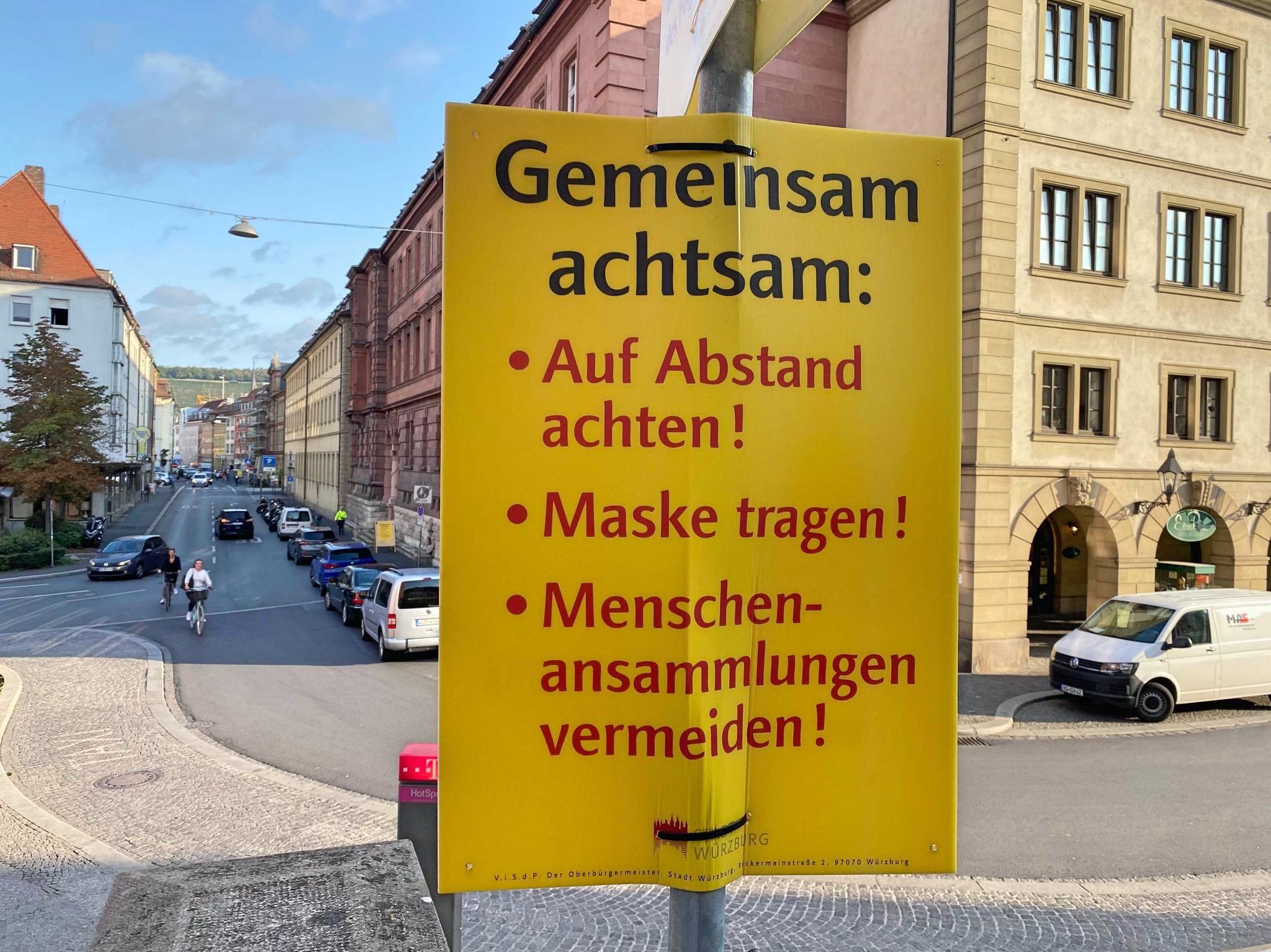 """""""Gemeinsam Achten"""". Foto: Jessica Hänse"""