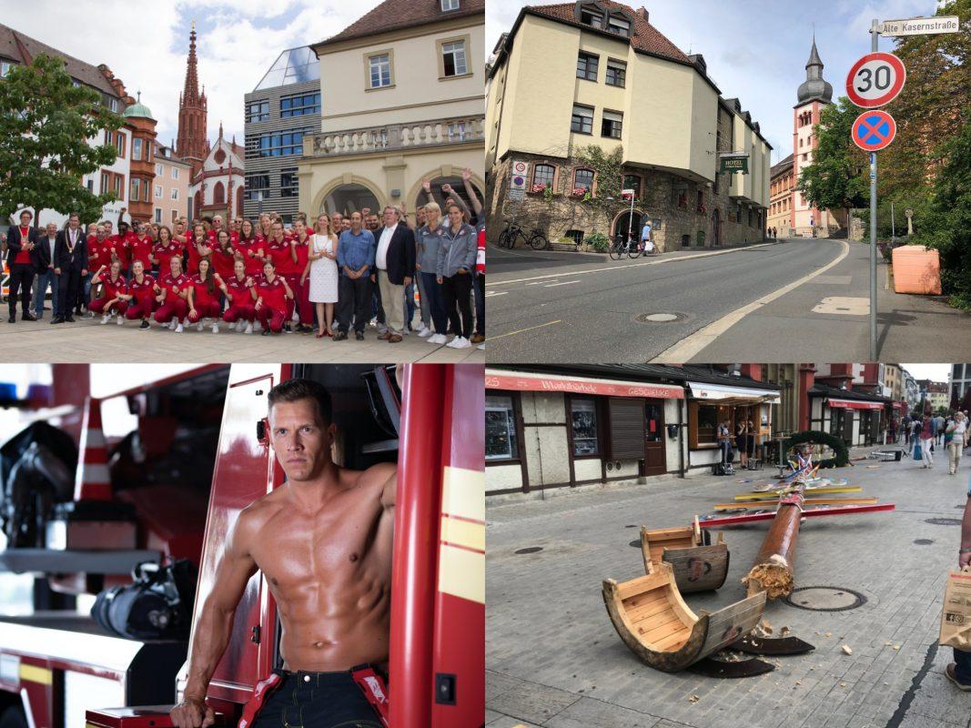 Auch im August gab es wieder viele interessante Themen. Fotos: Georg Wagenbrenner/ Stadt Würzburg, Katharina Kraus, Laura Schumacher, Würzburg erleben