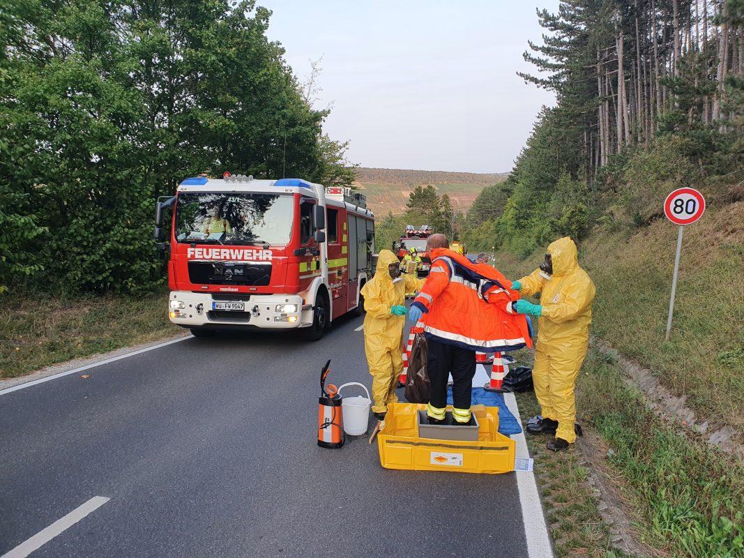 Einen umfangreichen Einsatz gab es am frühen Samstagabend für die Freiwillige Feuerwehr. Foto: Freiwillige