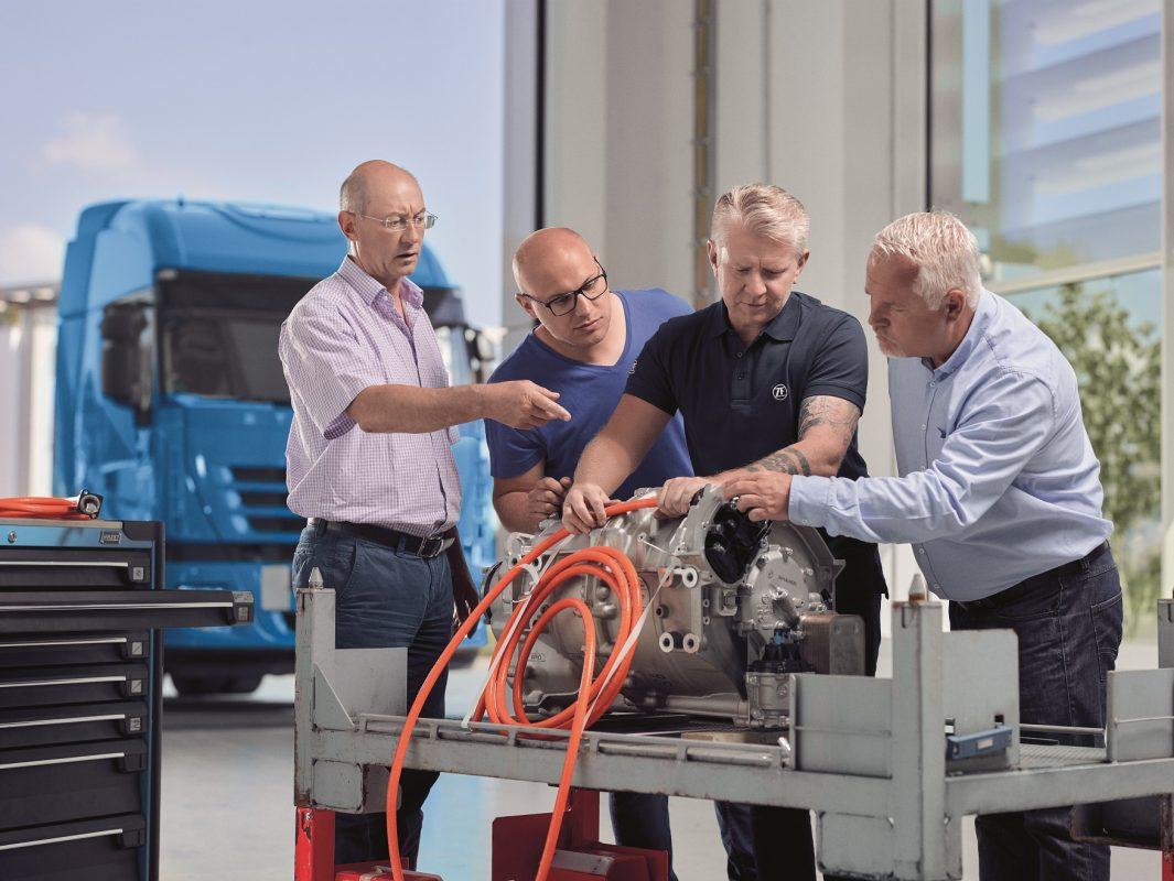 Die Sparte Nutzfahrzeugtechnik in ZF Schweinfurt gibt es bereits seit 60 Jahren. Foto: ZF