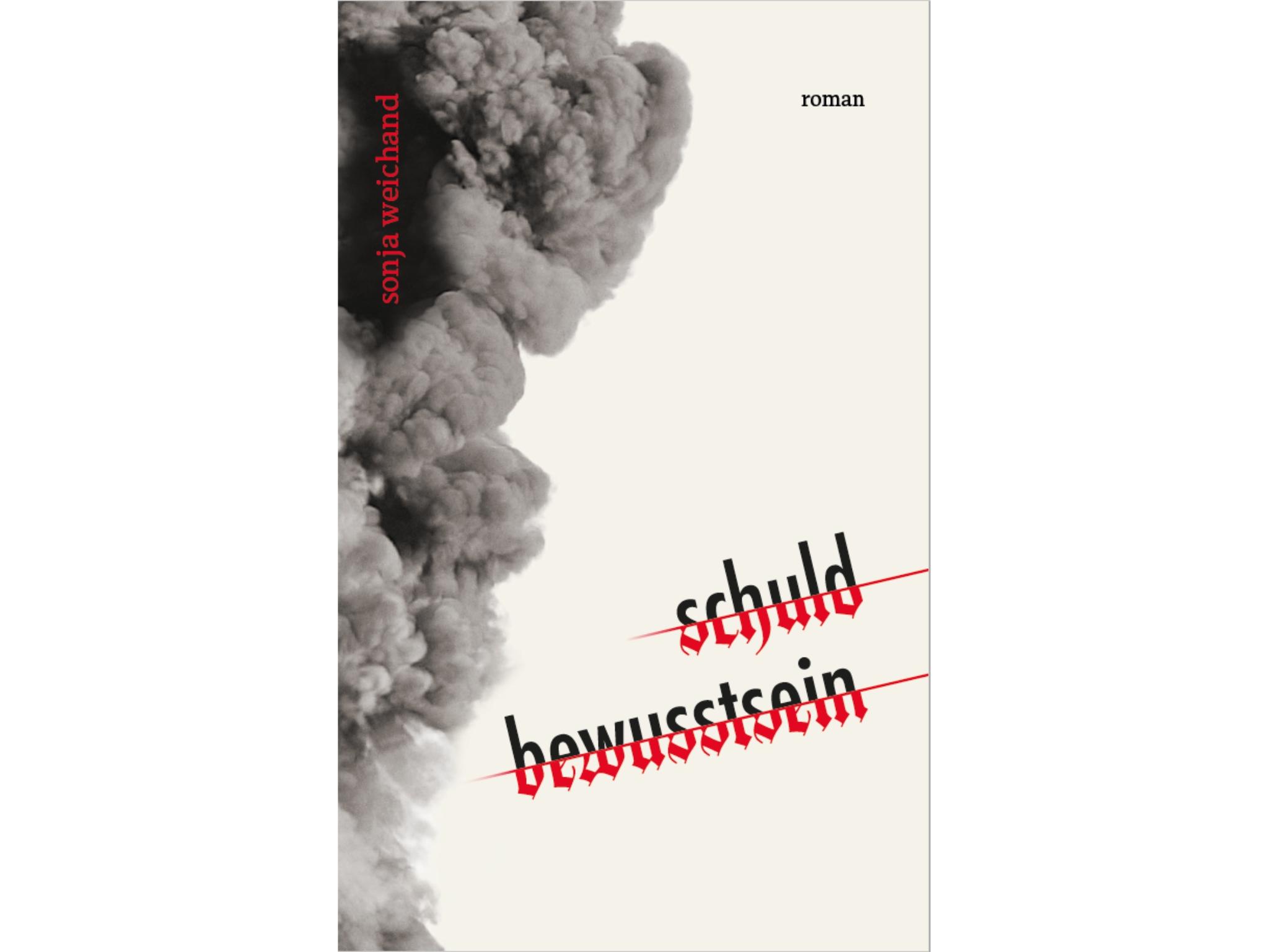 """Das Buch-Cover von """"schuld bewusstsein"""". Foto: Sonja Weichand"""