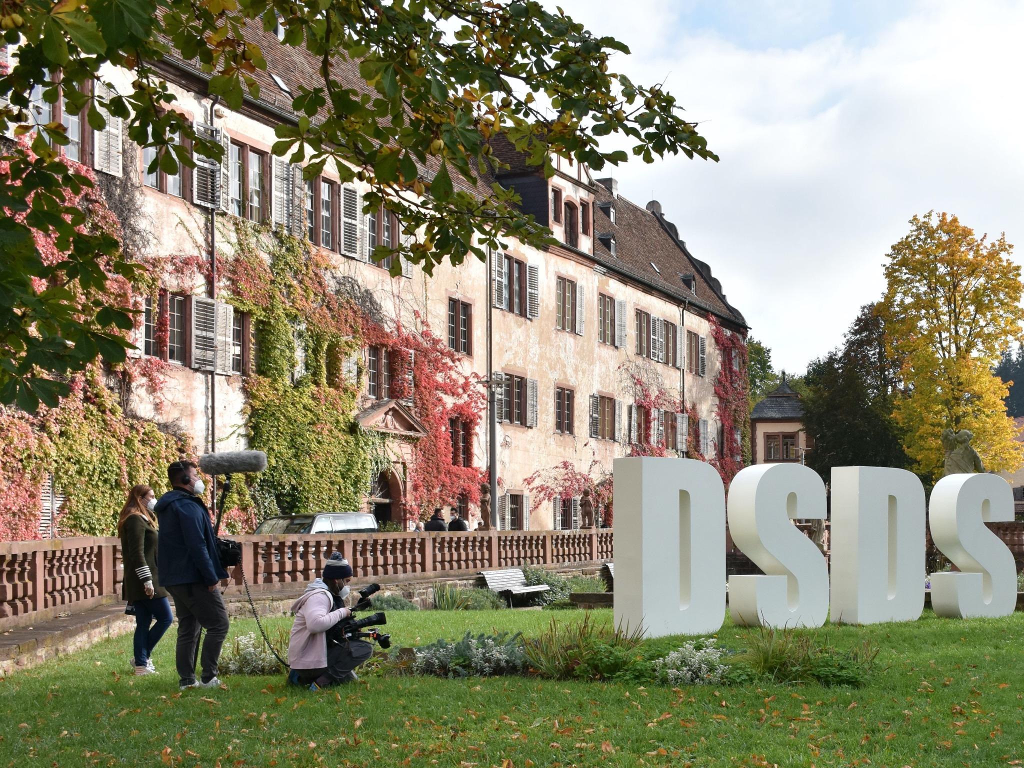 DSDS Dreh am Kloster Bronnbach. Foto: Landratsamt Main-Tauber-Kreis/ Frank Mittnacht