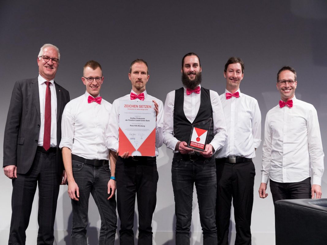 Das Team der Rosa Hilfe Würzburg. Foto: Patty Varasano