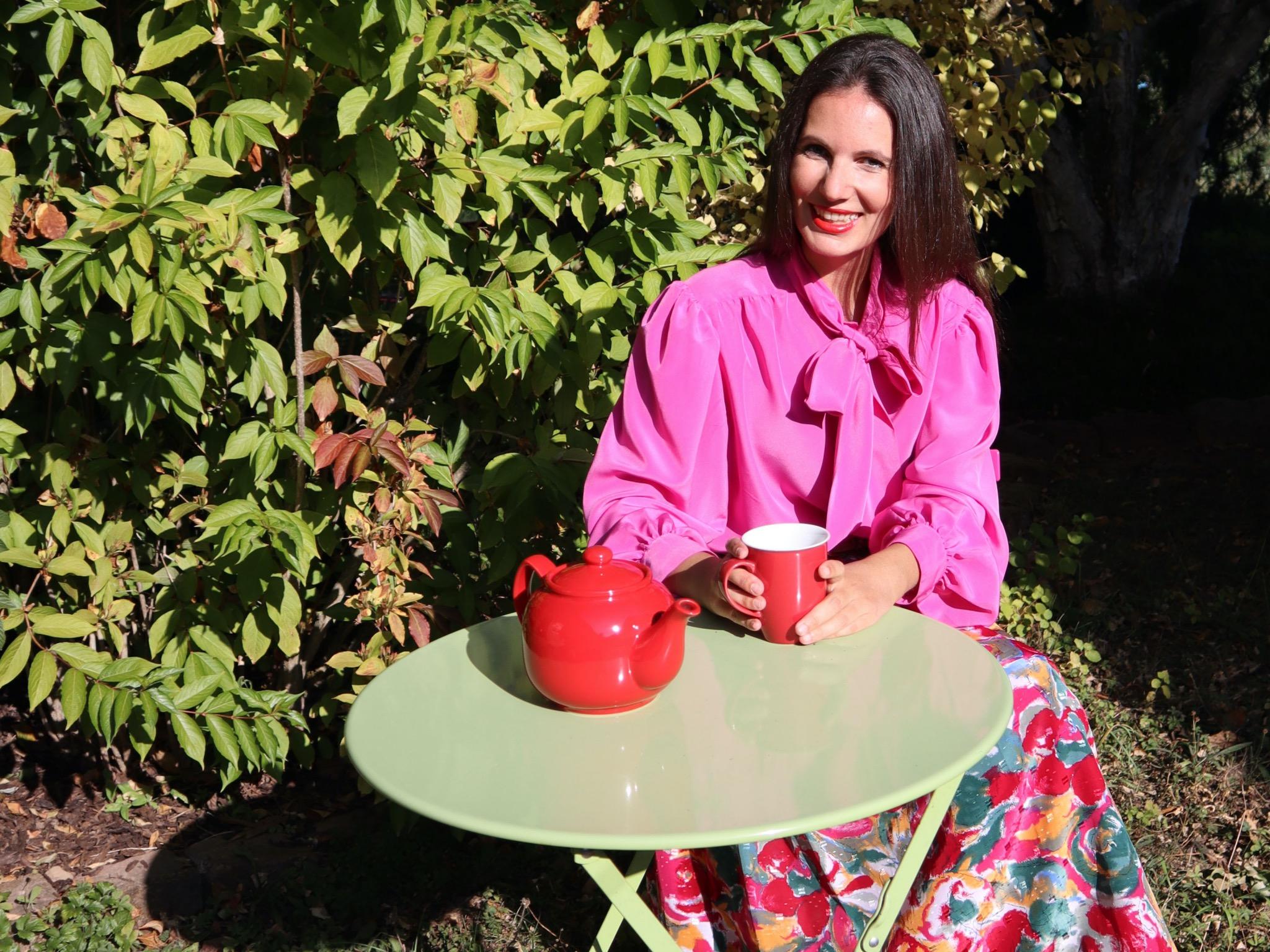 Julia liebt Vintage und eröffnete sogar einen eigenen Secondhand Online-Shop. Foto: Julia Nägler