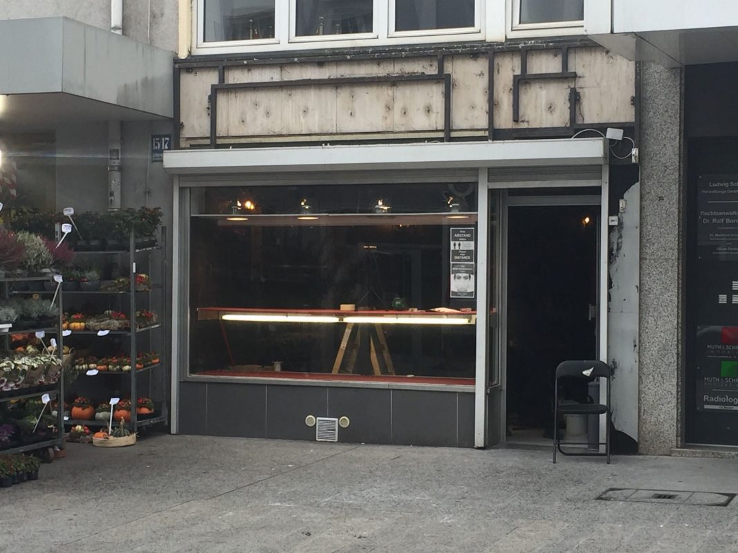 In der Eichhornstraße 19 eröffnet ein Tattoo-Laden. Foto: Würzburg erleben