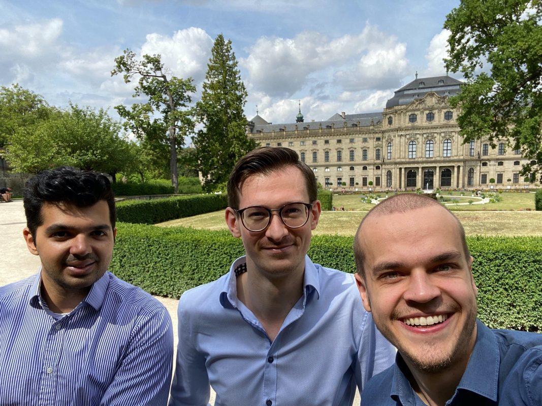 Philipp Rückert, Marian Brandel, Florens Bach stecken hinter JAMES AI. Foto: Florens Bach