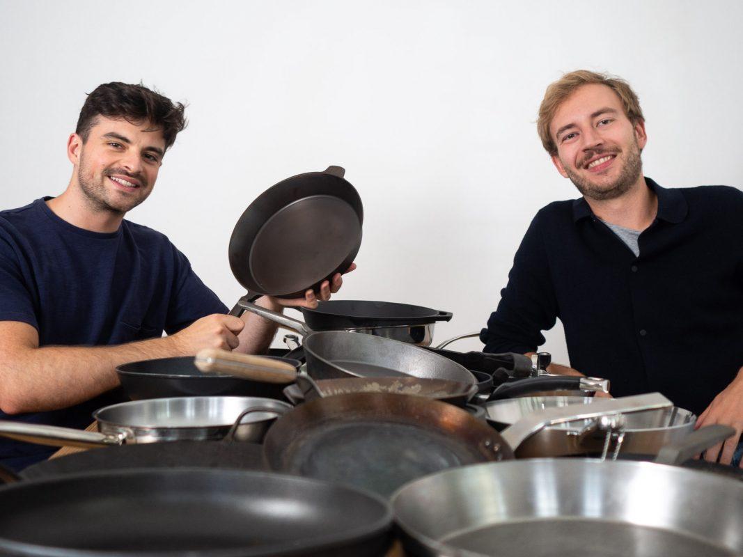 Die Gründer Simon und Filip von STUR. Foto: STUR.