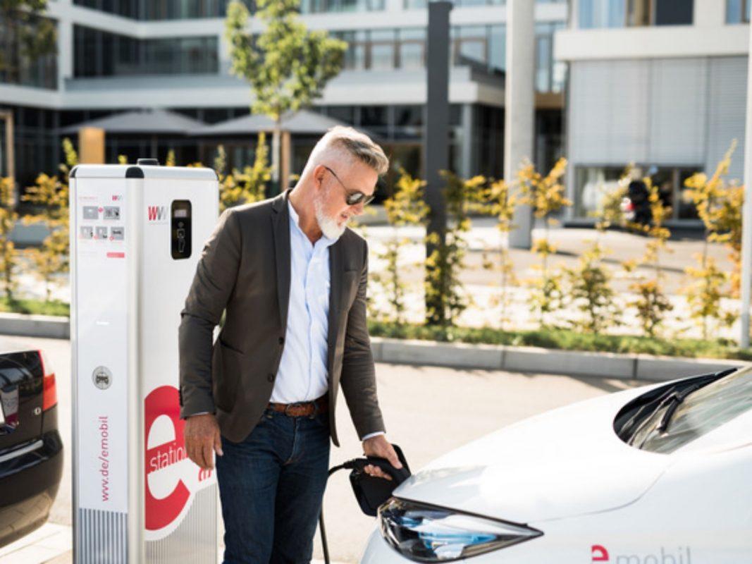 Die WVV kennt sich im Gebiet E-Mobilität bestens aus! Foto: Laura Schraudner