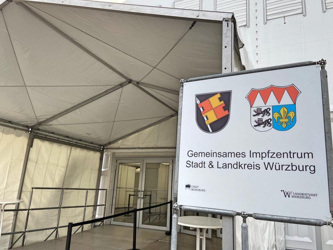 Das bayerische Corona-Impfzentrum auf der Talavera. Foto: Lilli Müller