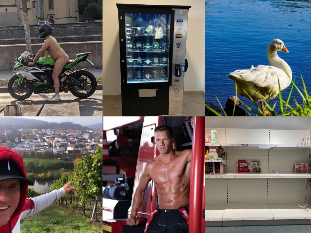 Das Jahr 2020 in Bildern. Fotos: Chistian Papay, Jessica Hänse, Karin Wolf, Screenshot Instagram, Laura Schumacher
