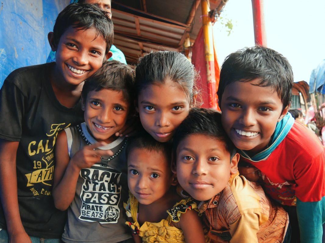 Kinder aus Bangladesch, die von der Hilfe profitieren. Foto: Manuel Häußner