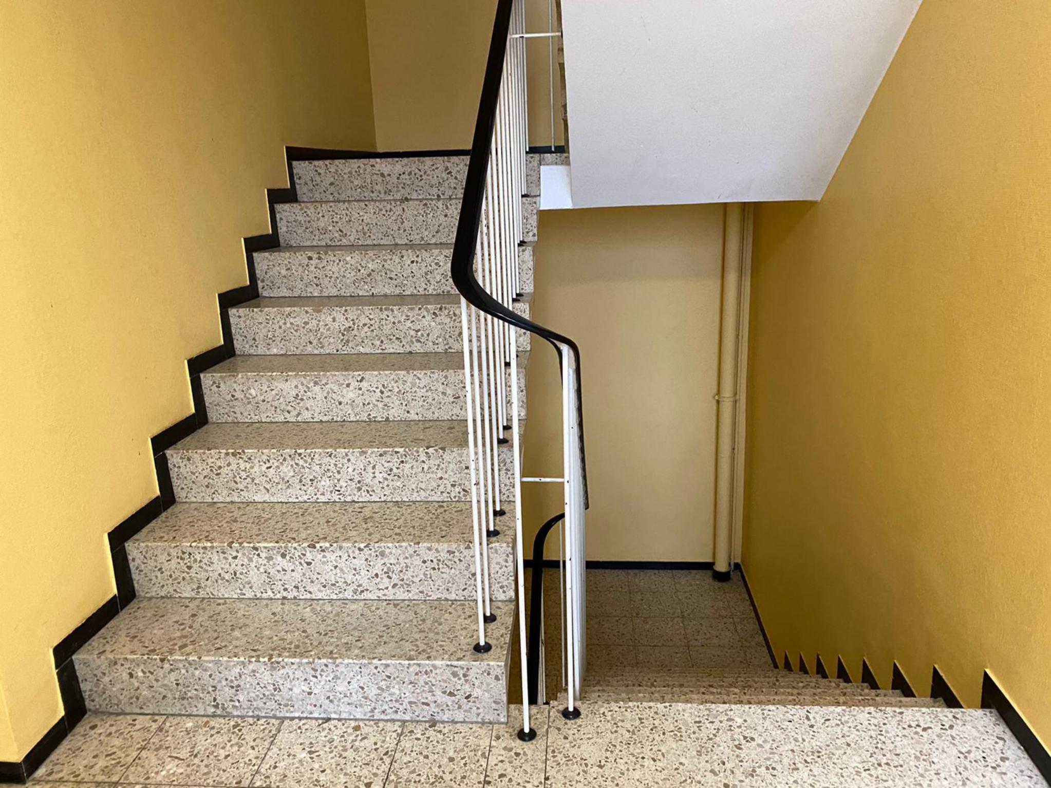 Treppen statt Aufzug. Foto: Diana Hisamudin