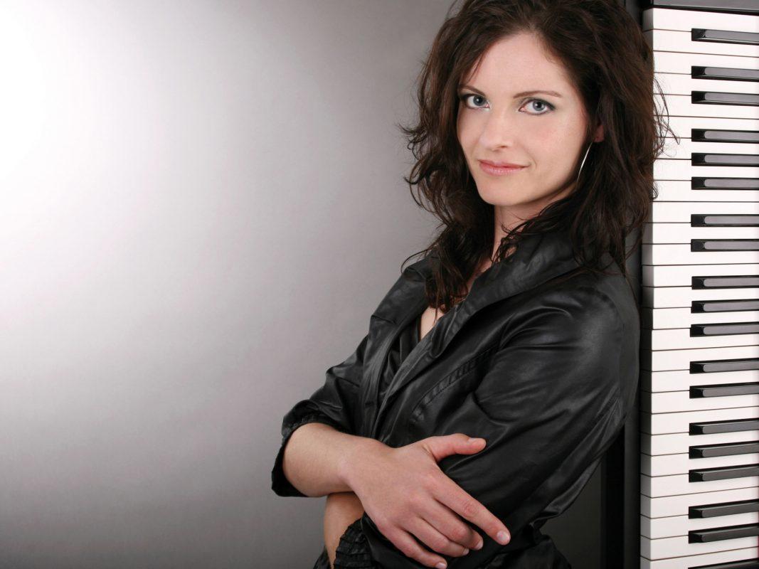 Musikerin und ehemalige Würzburger Studentin Christiane Dehmer. Foto: Claudia Monika Kuhn.