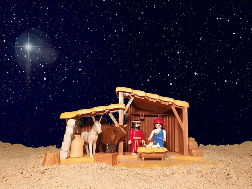 Szene aus dem Weihnachtsvideo des Historikers Benjamin Hasselhorn. Bild: Screenshot Benjamin Hasselhorn