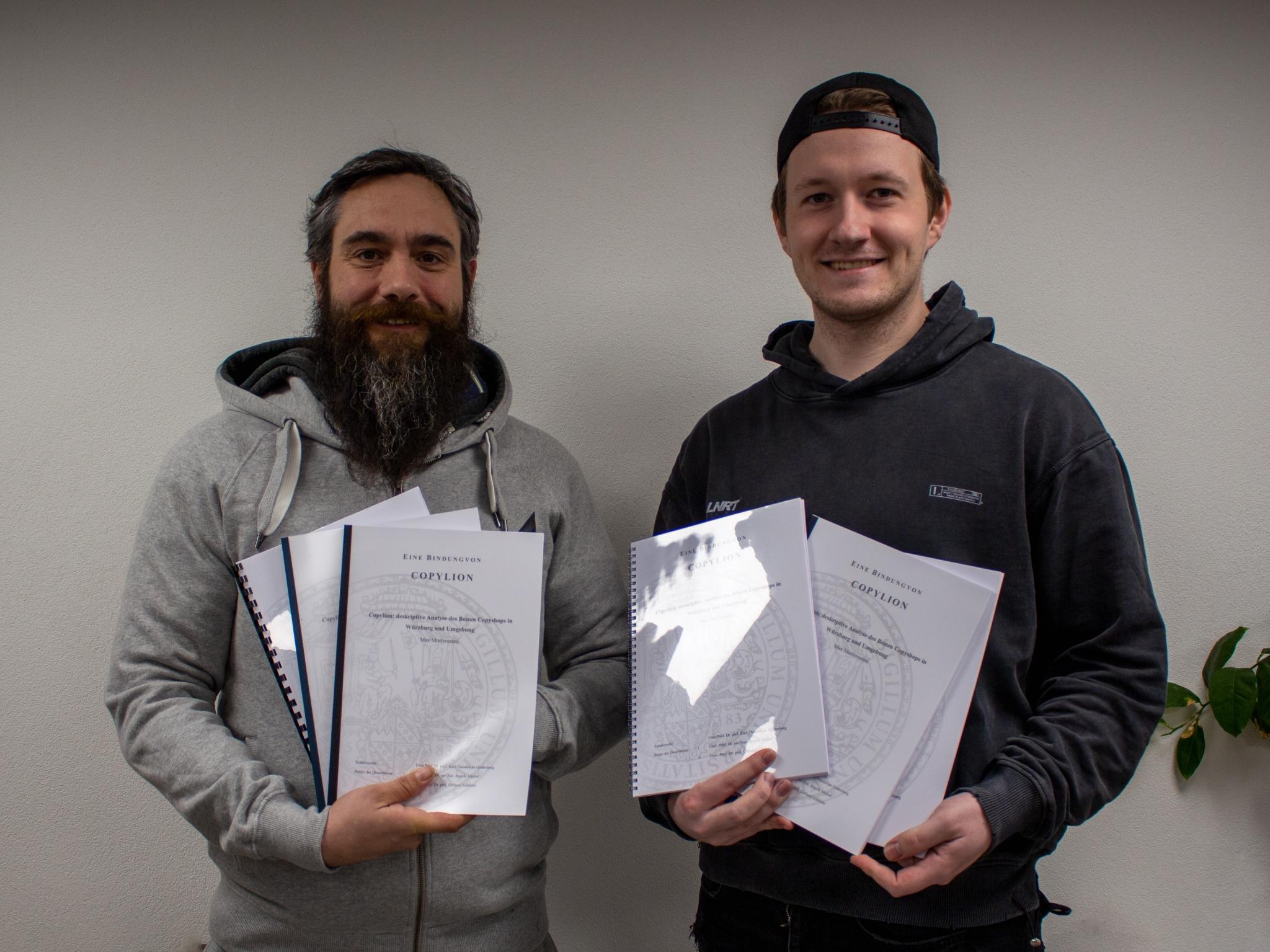 Die beiden Gründer v.l.n.r. Brian Kramer und David Schiemann. Foto: Copylion.