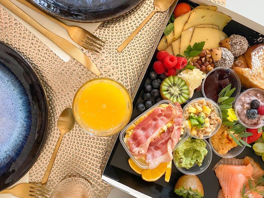 Frühstück per Take-Away nach Hause holen. Foto: Jessica Hänse
