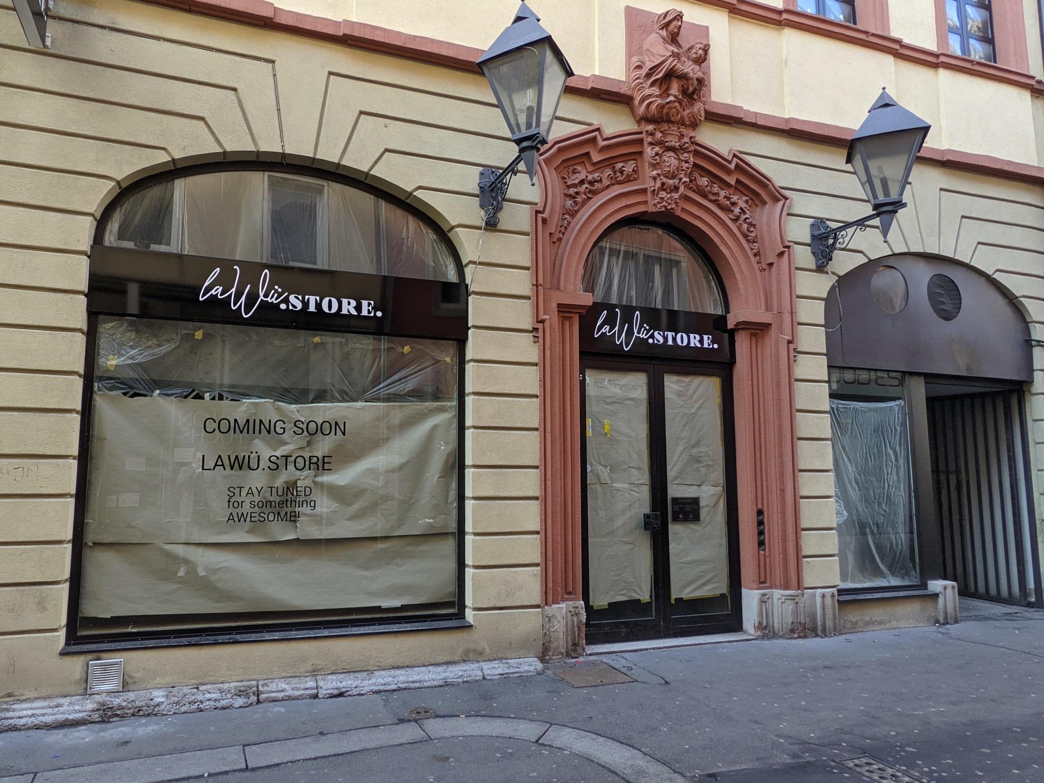 La Wü Store in der Bronnbachergasse. Foto: Würzburg erleben