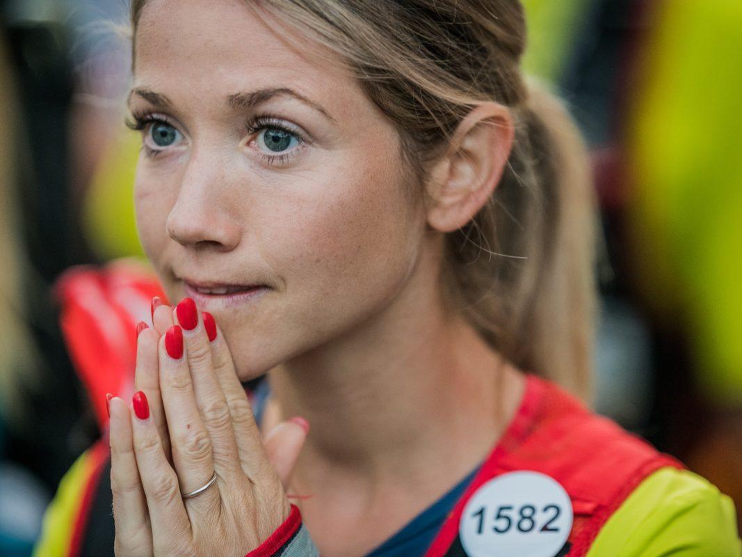 Die Anspannung steht Suse Spanheimer ins Gesicht geschrieben. Foto: Suse Spanheimer