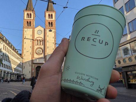 Recup Becher für das Getränk to-go. Foto: Christian J. Papay