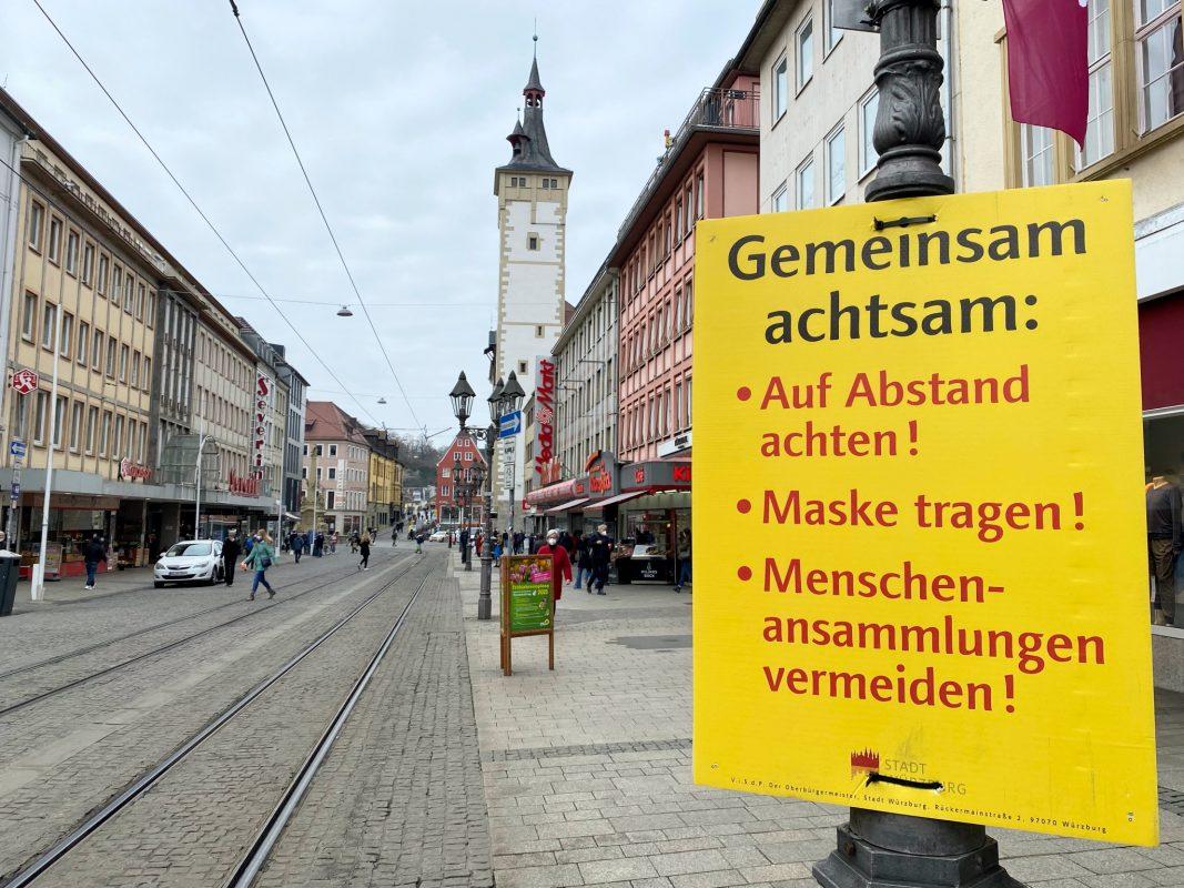 """""""Gemeinsam achtsam"""" in der Domstraße. Foto: Jessica Hänse"""