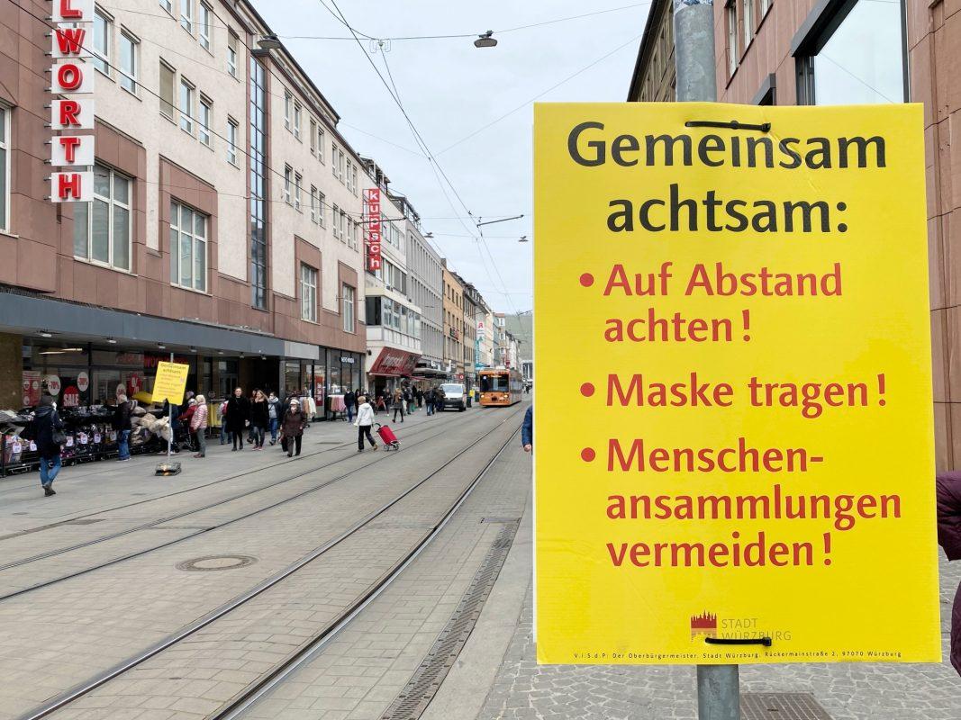 """""""Gemeinsam achtsam"""" in der Kaiserstraße. Foto: Jessica Hänse"""