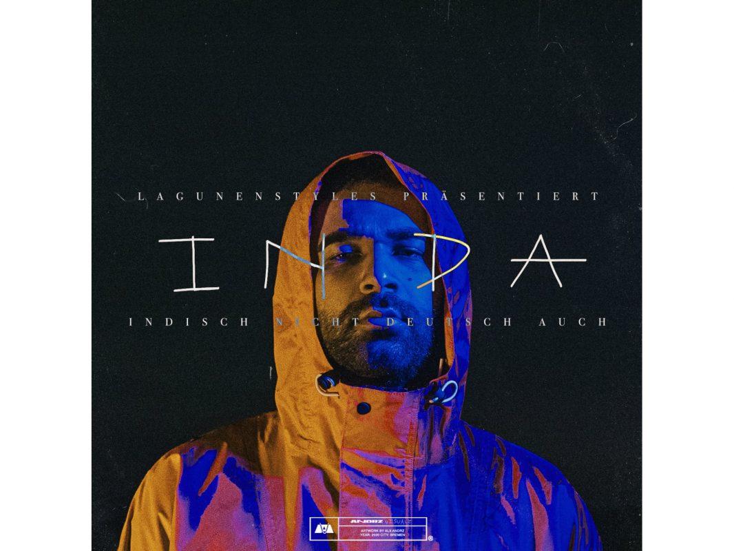 """Die neue EP """"INDA - Indisch Nicht Deutsch Auch"""" von Grinch aus Würzburg. Foto: Lagunenstyles"""