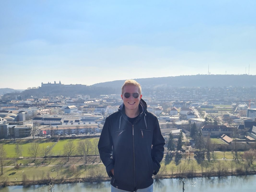 "Manuel Fröhlich, Gründer des Podcasts ""SPORTLUPE"". Foto: Manuel Fröhlich"