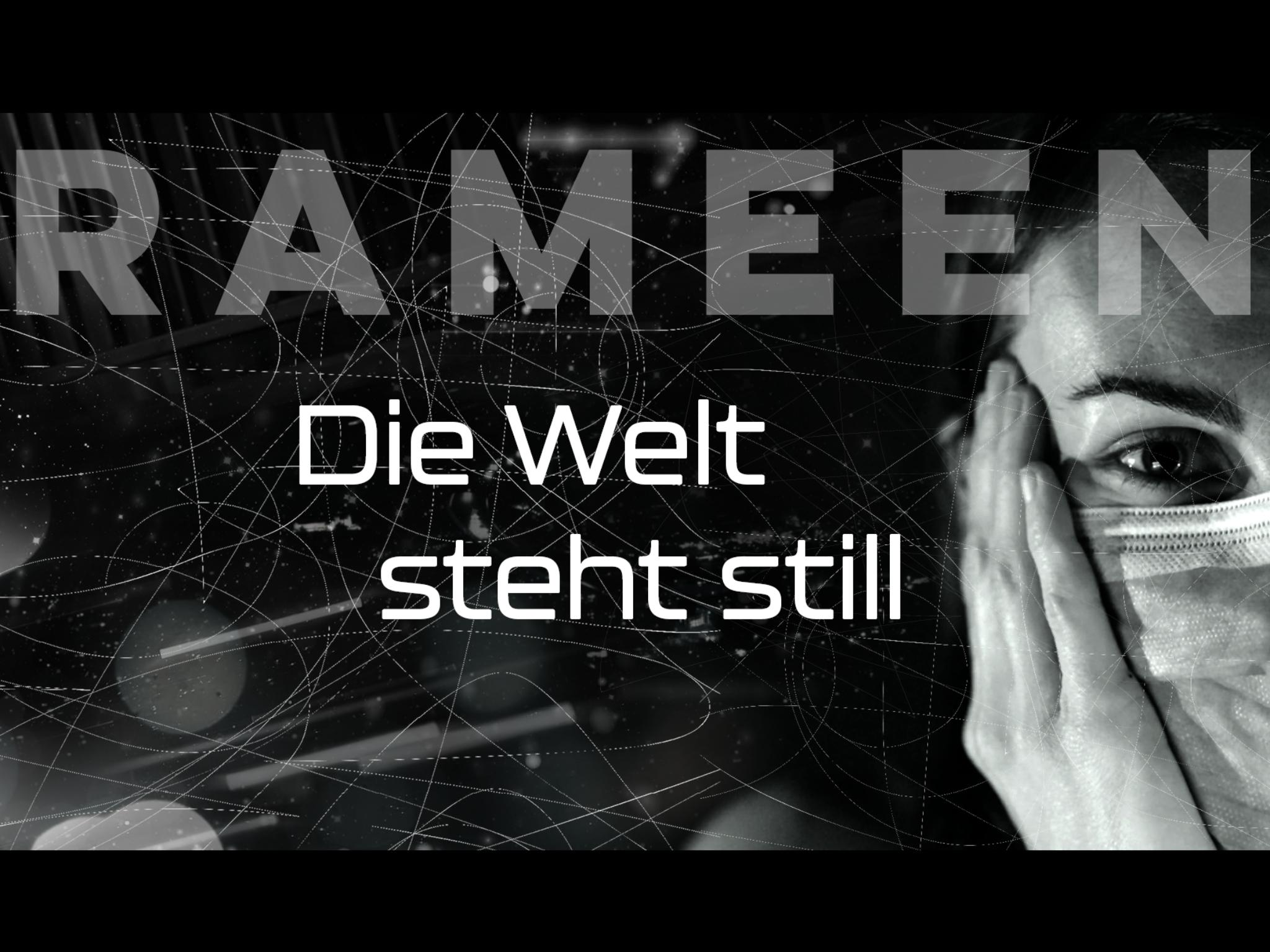 """Cover des Songs """"Die Welt steht still"""". Foto: Rameen."""