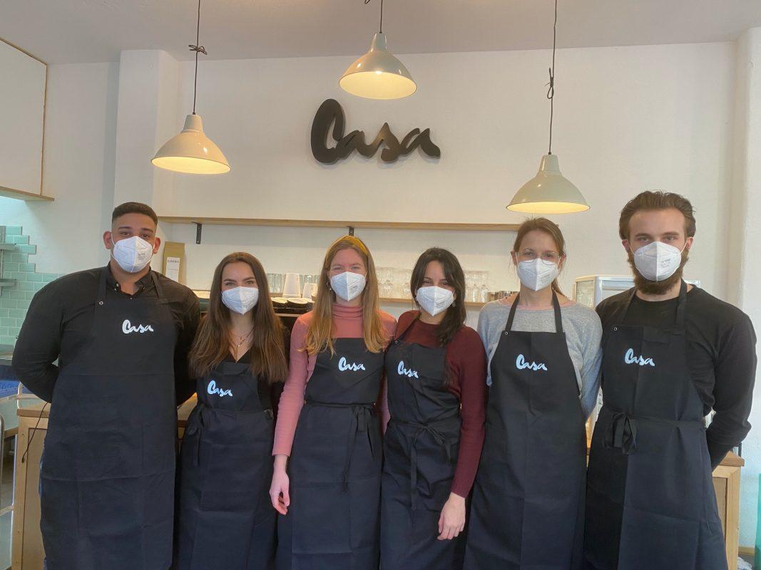"""Das Team von """"Das Casa"""". Foto: Belz GmbH"""