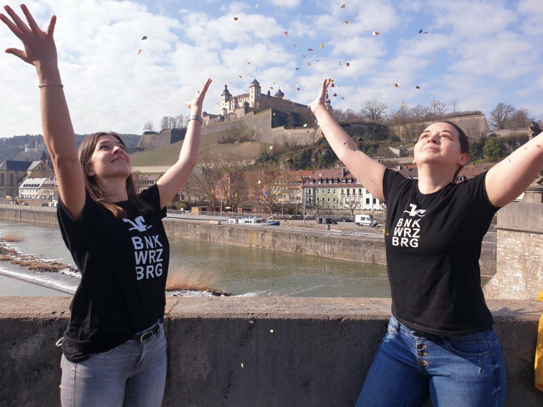Dank Abschluss 21 gibt's für Abschlussklassen auch 2021 was zu feiern! Foto: VR-Bank Würzburg