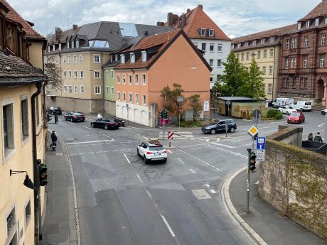 Verbindung zwischen Domstraße und Mainkai. Foto: Diana Hisamudin