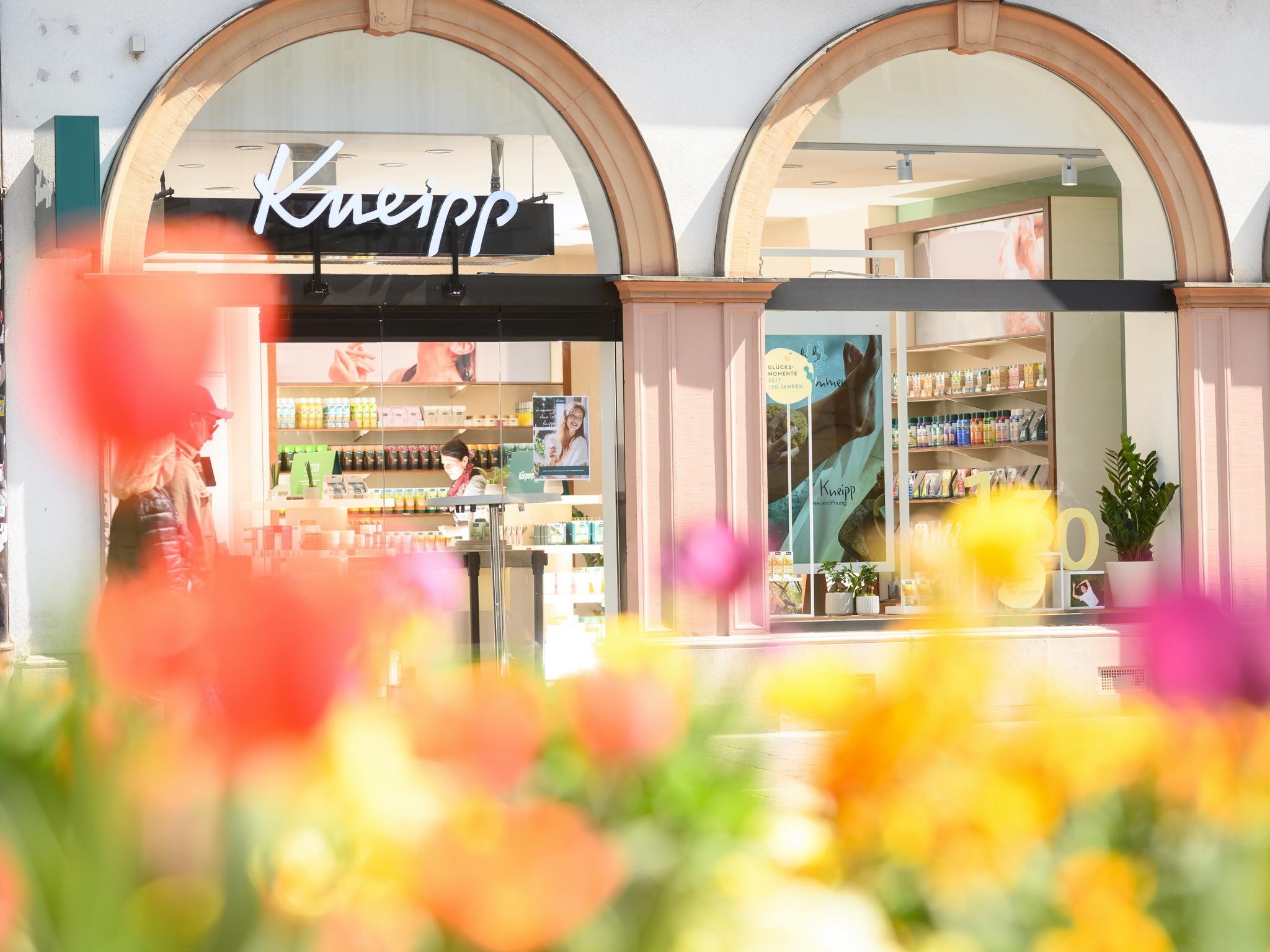 Der neue Kneipp Store am Marktplatz. Foto: Kneipp