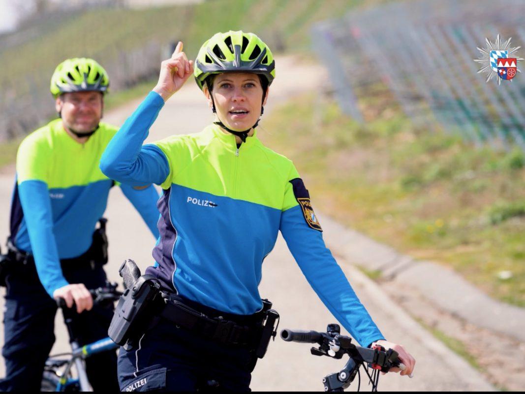 #KopfEntscheidung: Radeln mit Helm kann Leben retten. Foto: Screenshot Video Polizei Unterfranken