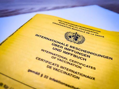 Symbolbild Impfpass. Foto: Pascal Höfig