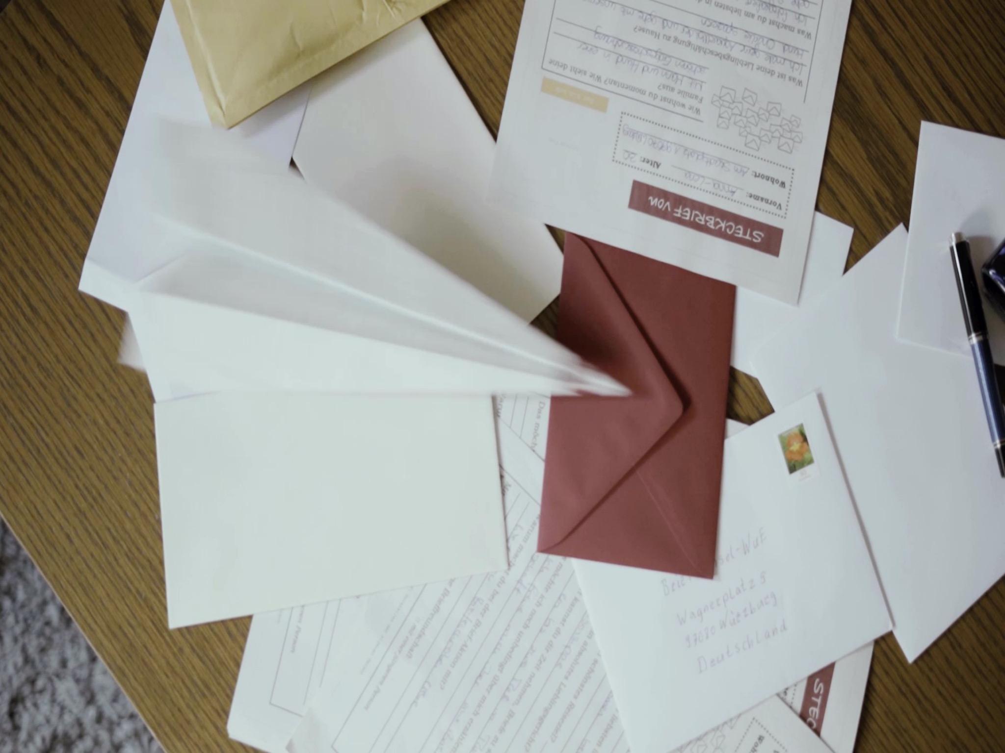 Seit einem Jahr gibt es nun schon Briefwechsel-Wue. Foto: Briefwechsel-Wue