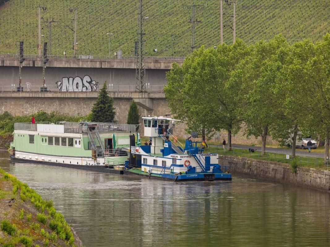 Das Boot ist wieder zurück im Alten Hafen. Der schwimmende Club war über einen Monat in der Werft. Foto: Christoph Weiss