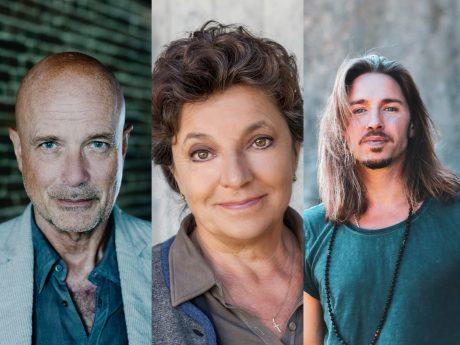 Das MainLit 2021 bietet über 40 Lesungen von bekannten SchriftstellerInnen. Fotos: Gerald von Foris, Stefanie Leo & Ina Bohnsack