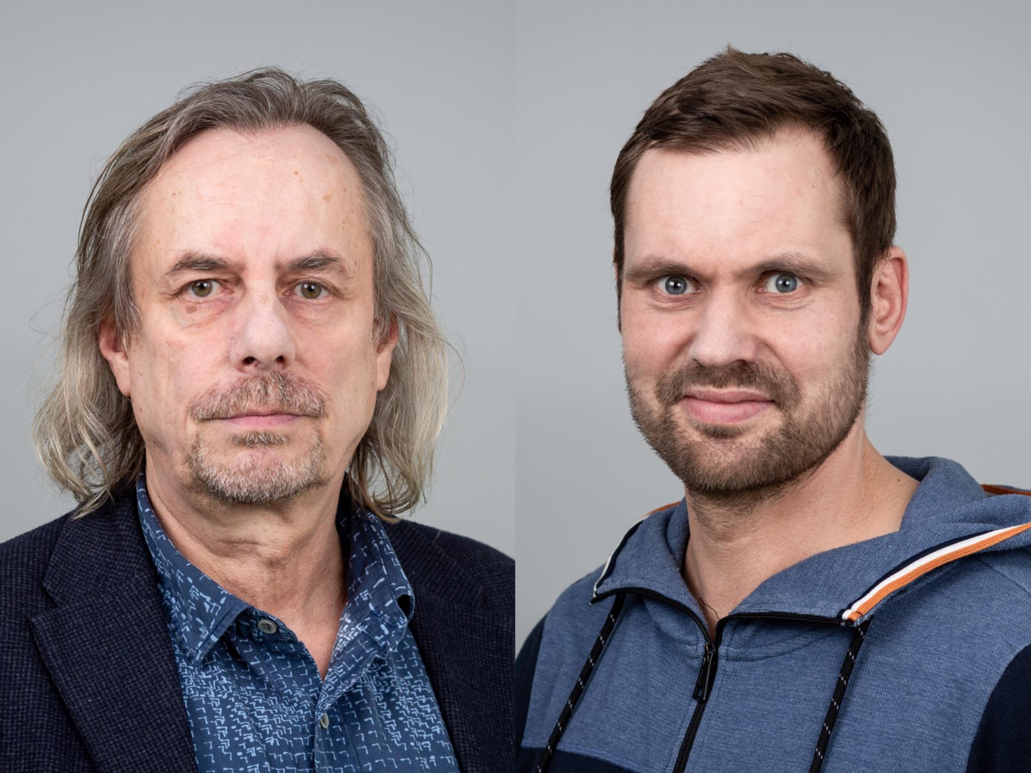 Thomas Heise und Claas Meyer-Heuer geben Einblick in die Strukturen arabisch-stämmiger Clans. Fotos: Julian Busch