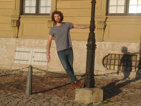 Fabio ist der Entwickler des Spiels Ciceru. Foto: Fabio Ferrari