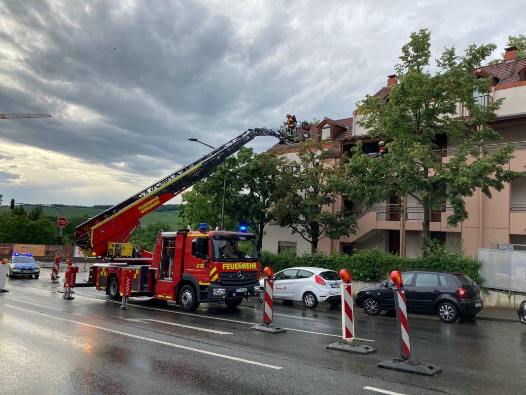 Im Frauenland kam die Feuerwehr wegen eines Fett Brandes zu Hilfe. Foto: Stadt Würzburg/ Amt für Zivil- und Brandschutz/Berufsfeuerwehr