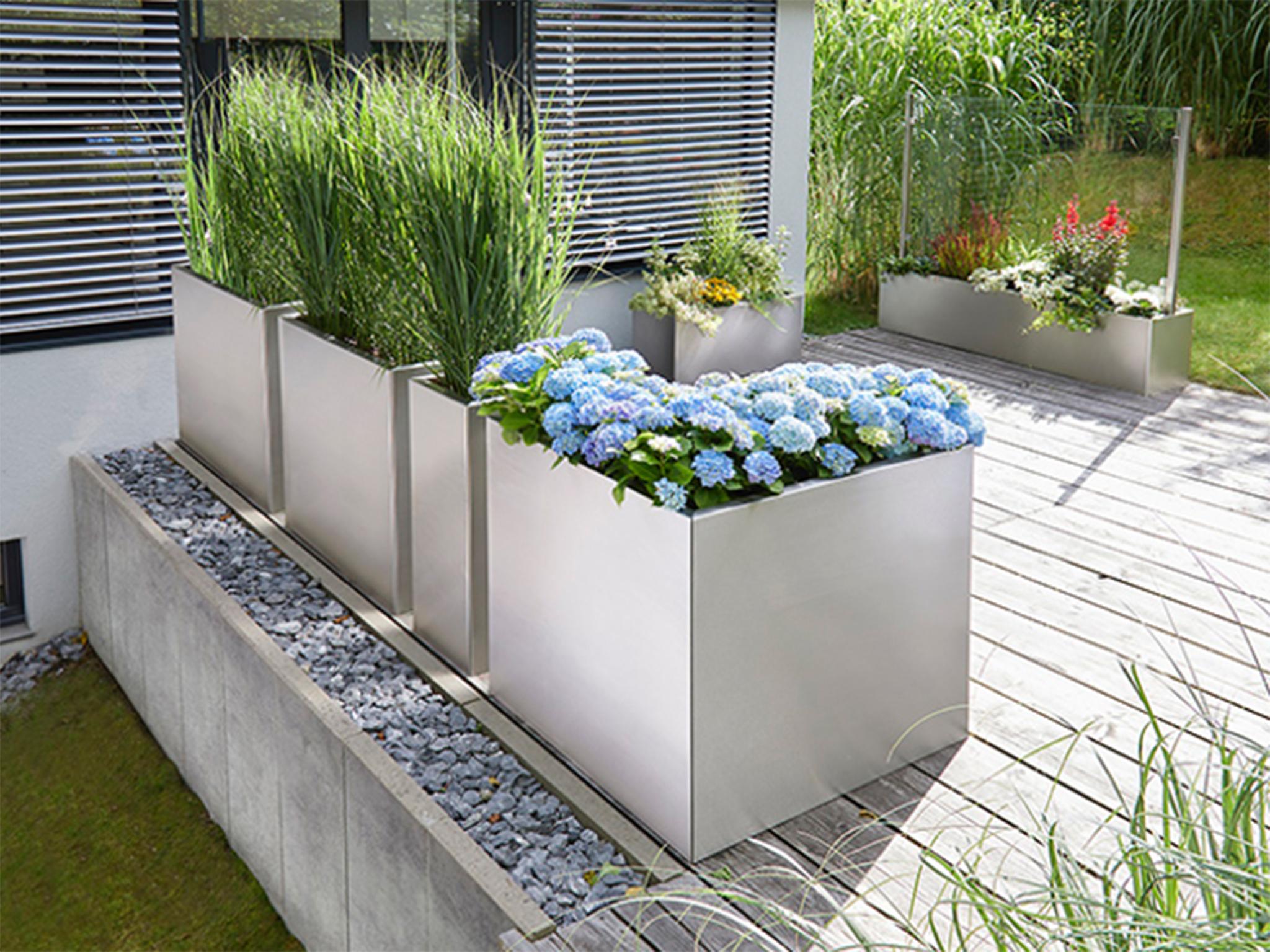 Moderne Gartenausstattung von Glasprofi24. Foto: Glasprofi24