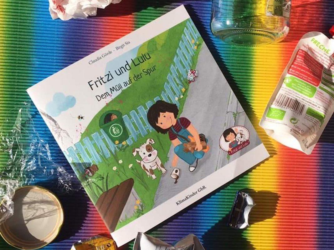 "Das nachhaltige Kinderbuch ""Fritzi und Lulu"". Foto: Claudia Görde"